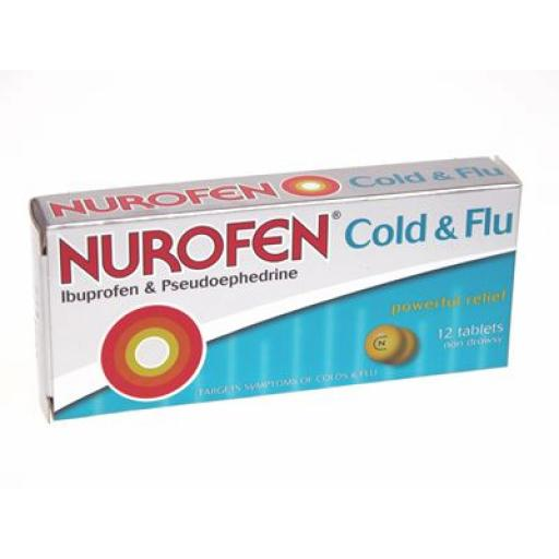 Nurofen Cold & Flu Tablets