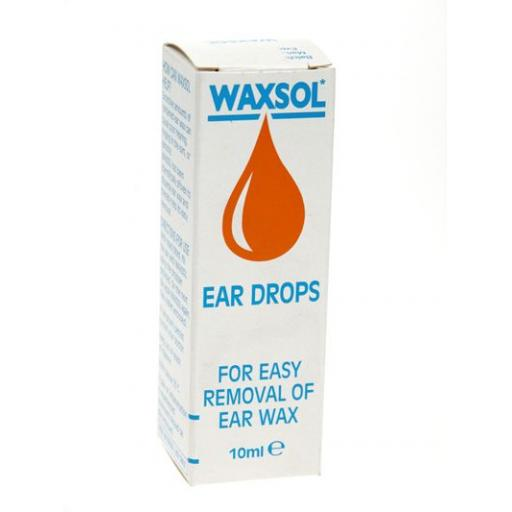 Waxsol Ear Drops
