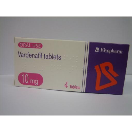 Vardenafil (Generic Levitra) 10mg 4 Tablets