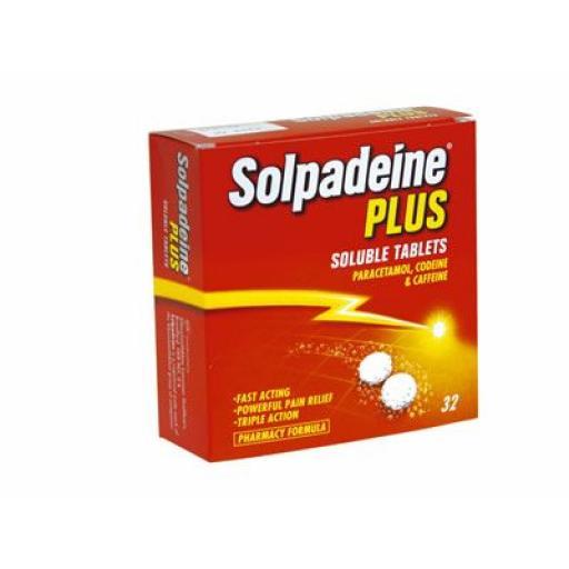 Solpadeine Plus Soluble 32 Tablets