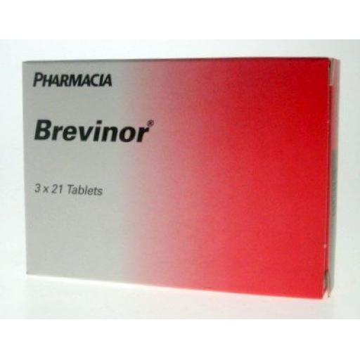 Brevinor - 63 Tablets