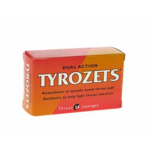 Tyrozets Throat Lozenges