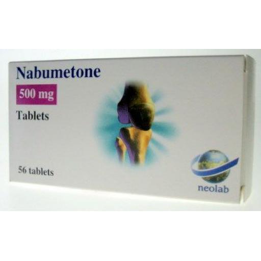Nabumetone 56 x 500mg Tablets