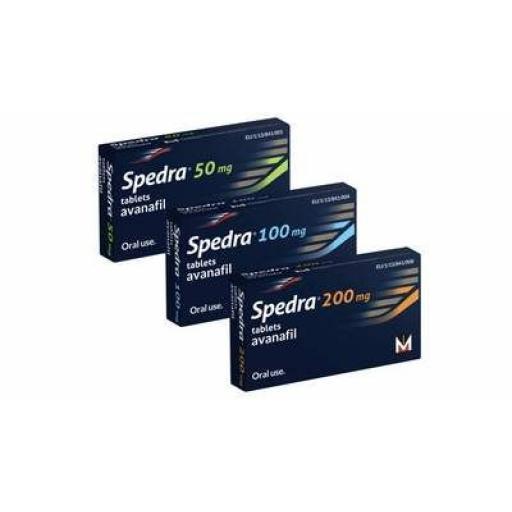 Spedra (avanafil) 50mg [POM] - 4 tablets - UK Sourced