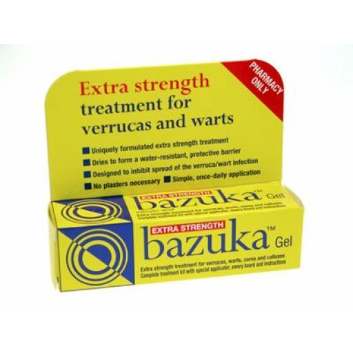 Bazuka Gel Extra Strength