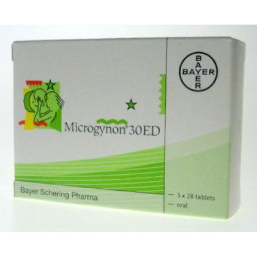 Microgynon 30 ED - 84 Tablets