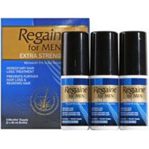 Regaine Extra Strength Hair Loss Scalp Solution Triple Pack