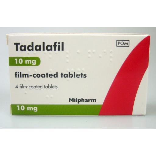 Tadalafil 4 x 10mg Tablets