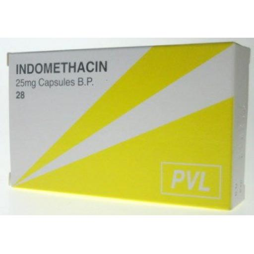 Indometacin 28 x 25mg Capsules