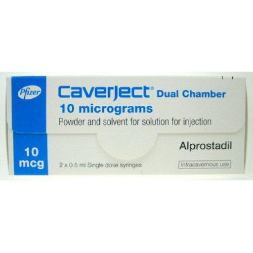 Caverject (alprostadil) Dual Chamber 10mcg/ml [POM] - 1 Pack