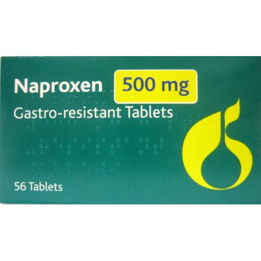 Naproxen 500mg Gastro-Resistant Tablets