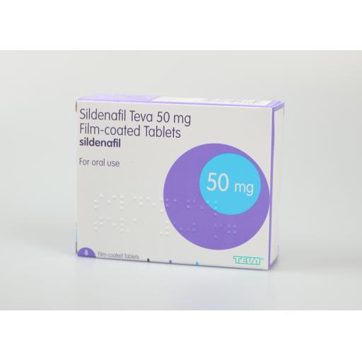 Sildenafil 8 x 50mg Tablets