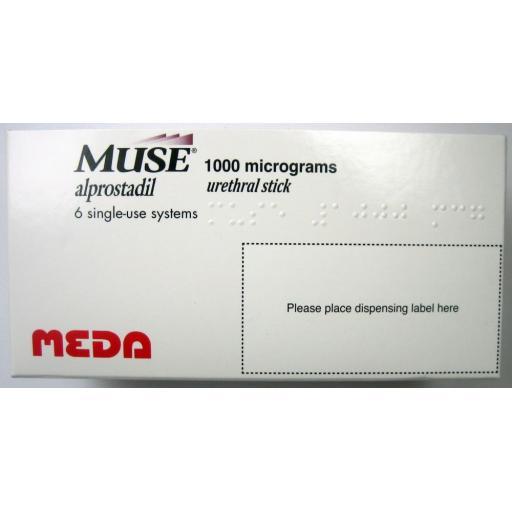 Muse 6 x 1000mcg Pellets