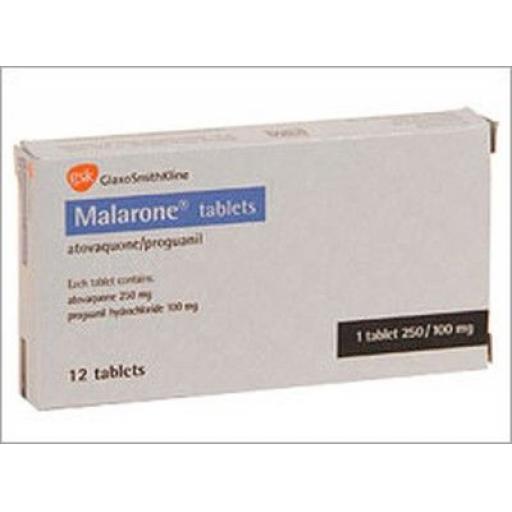 Malarone - 12 Tablets