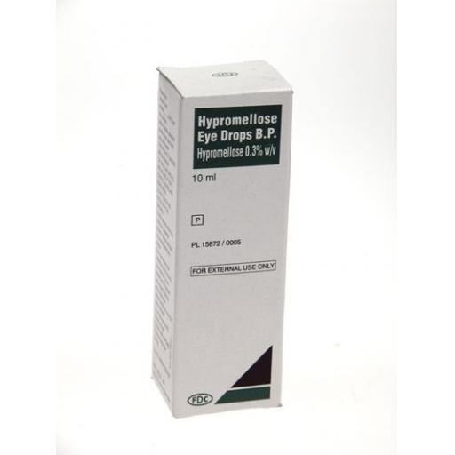 Hypromellose Eye Drops 10ml