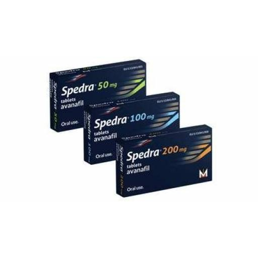 Spedra (avanafil) 100mg [POM] - 8 tablets - UK Sourced