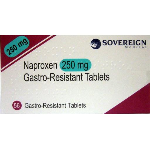 Naproxen 250mg Gastro-Resistant Tablets