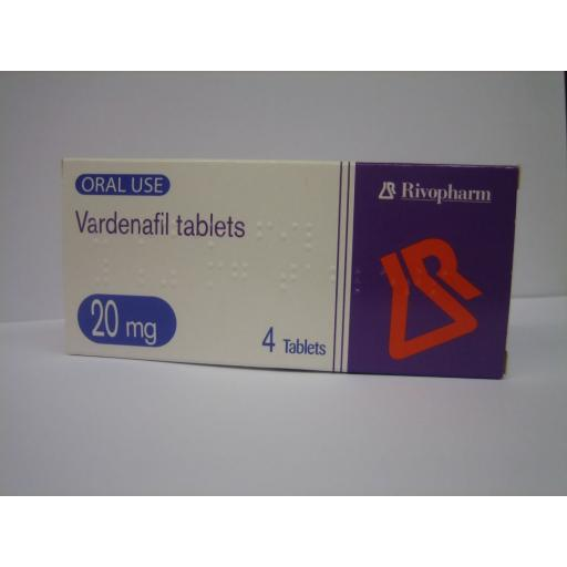 Vardenafil (Generic Levitra) 20mg 4 Tablets