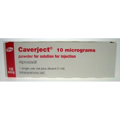 Caverject (alprostadil) 10mcg/ml [POM] - 1 Pack