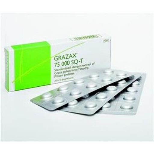 Grazax lyophilisate 75,000 SQ-T - 30 Tablets