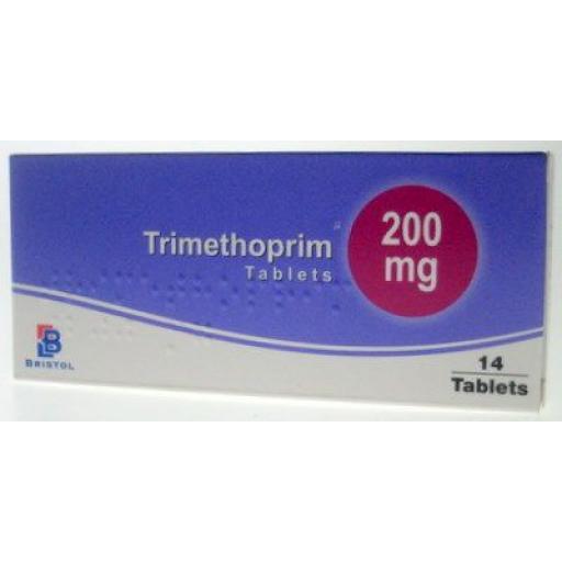 Trimethoprim 14 x 200mg Tablets