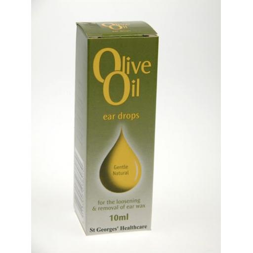 Olive Oil Ear Drops 10ml