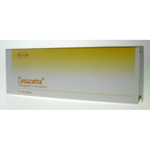 Cerazette - 84 Tablets
