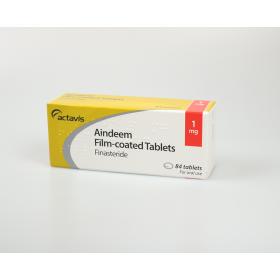 Actavis Aindeem (Finasteride) 84 x 1mg Tablets