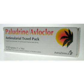 Paludrine/Avloclor Antimalarial Strip