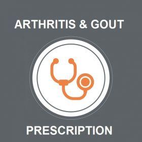 Arthritis and Gout Prescription